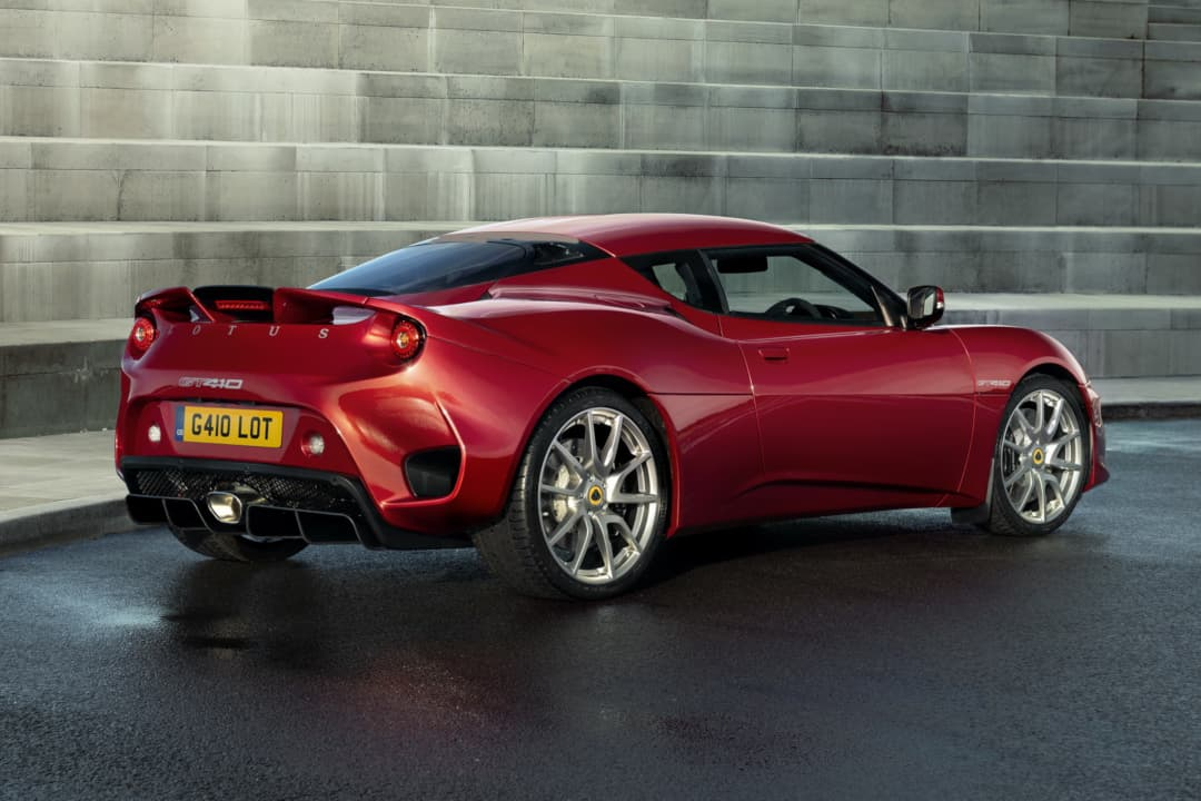 Lotus Evora GT410 rear