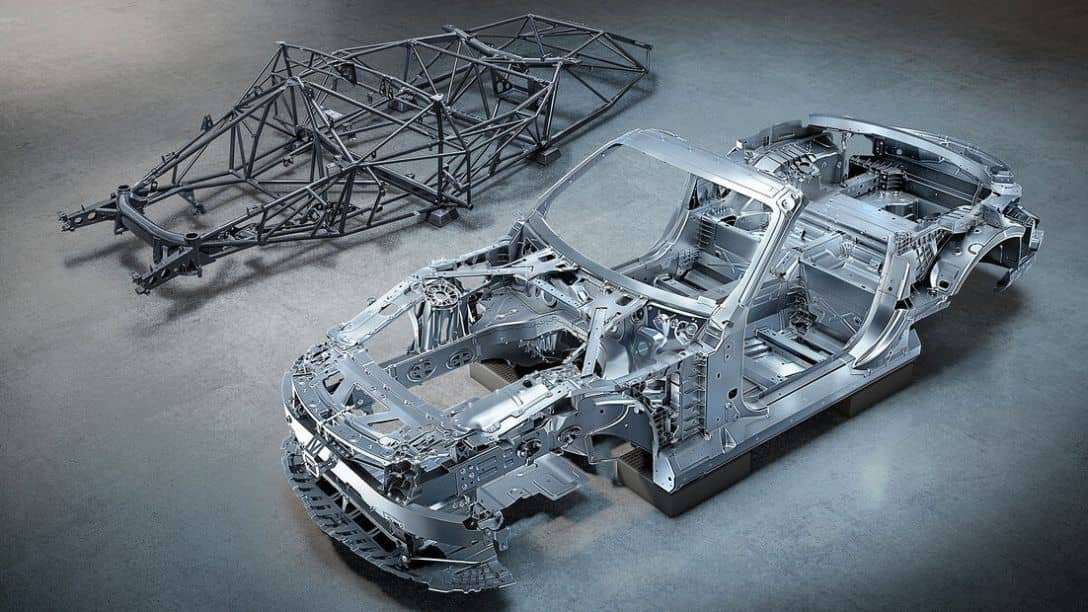 Mercedes-AMG SL Chassis