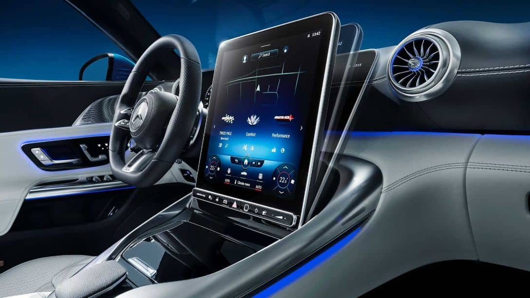 Mercedes-AMG SL Touch screen