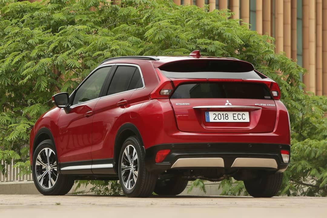 Mitsubishi Eclipse Cross 2018 rear