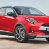 Toyota Yaris SUV rendered by AutoExpress front