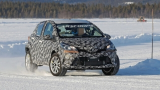 Toyota Yaris Cross Snow Test Spyshot