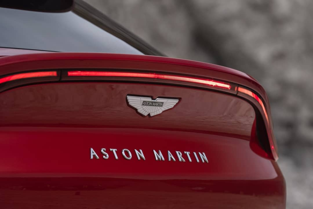 Aston Martin DBX badge