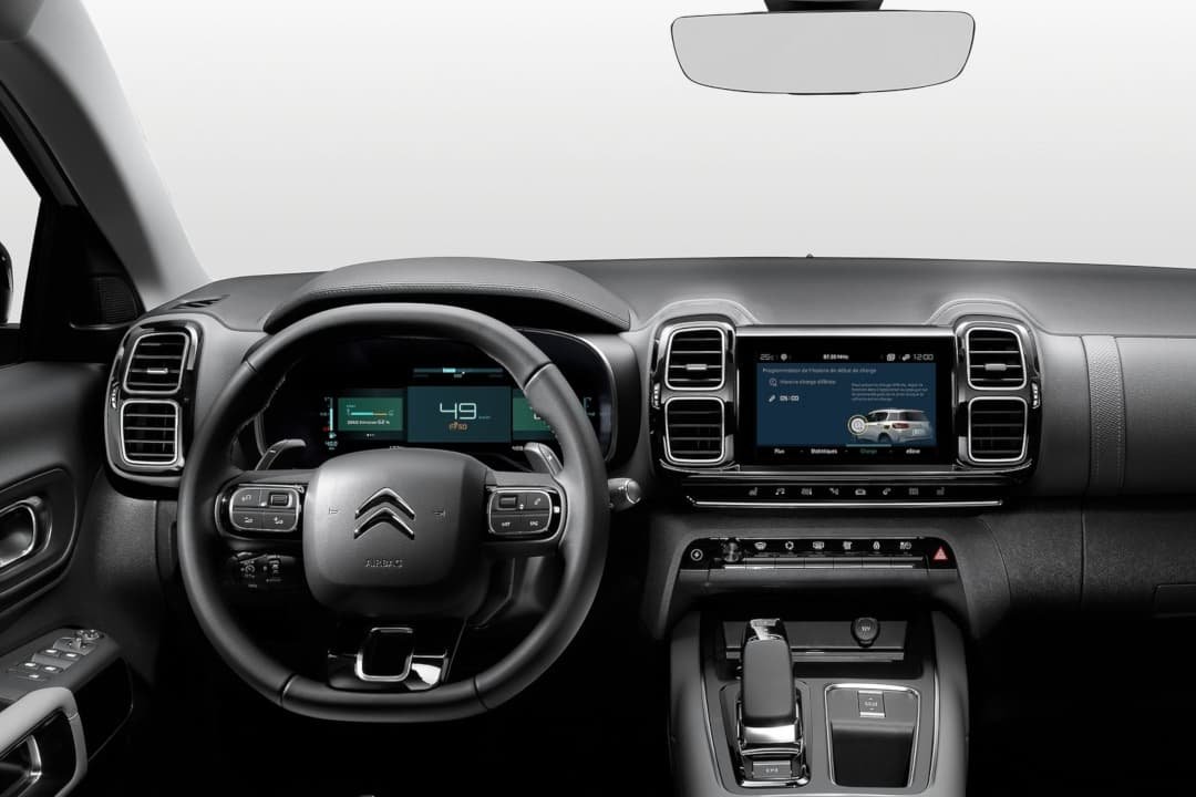Citroen C5 AirCross Hybrid dashboard