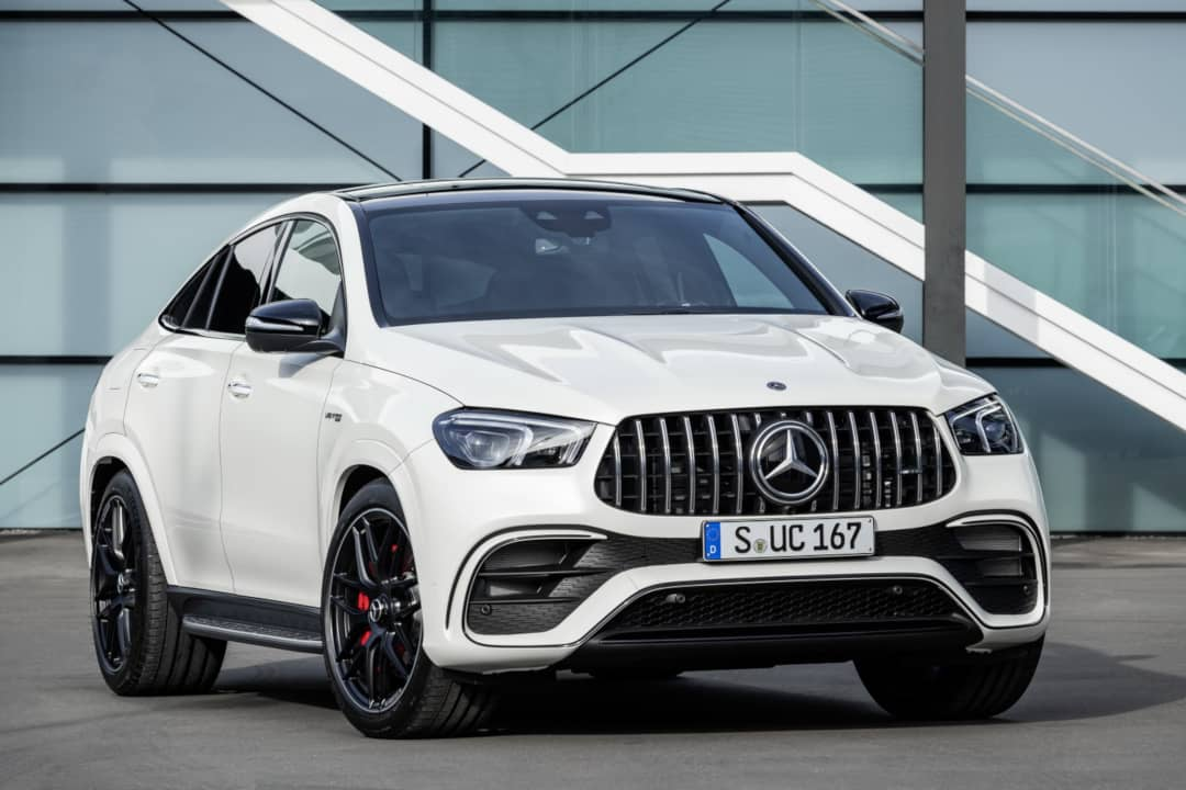 Mercedes AMG GLE 63 Coupe front