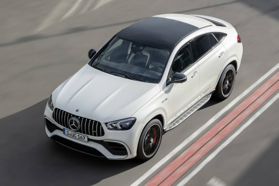 Mercedes AMG GLE 63 Coupe top