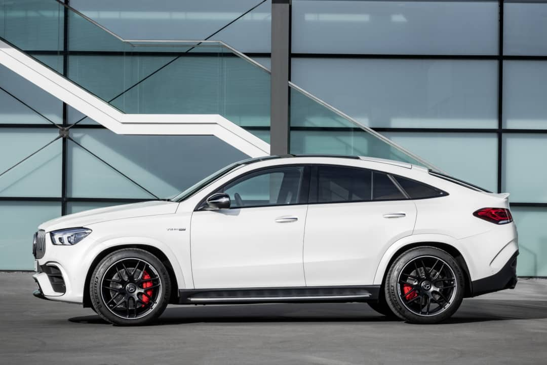 Mercedes AMG GLE 63 Coupe side