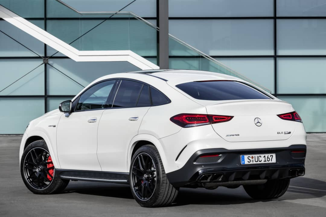 Mercedes AMG GLE 63 Coupe rear