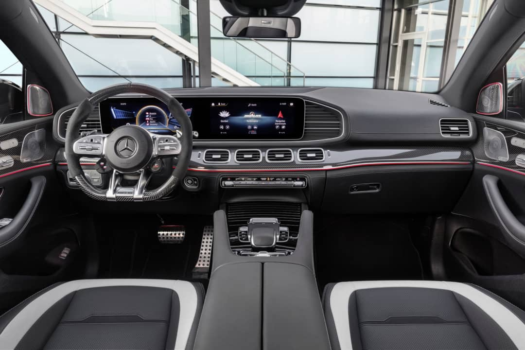 Mercedes AMG GLE 63 Coupe interior