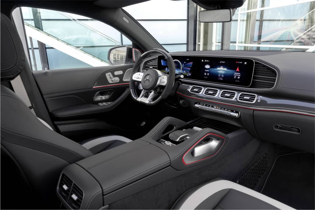 Mercedes AMG GLE 63 Coupe dashboard