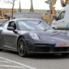Porsche 911 Turbo S type 992 spyshot