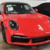 Porsche 911 Turbo Type 992 leaked front