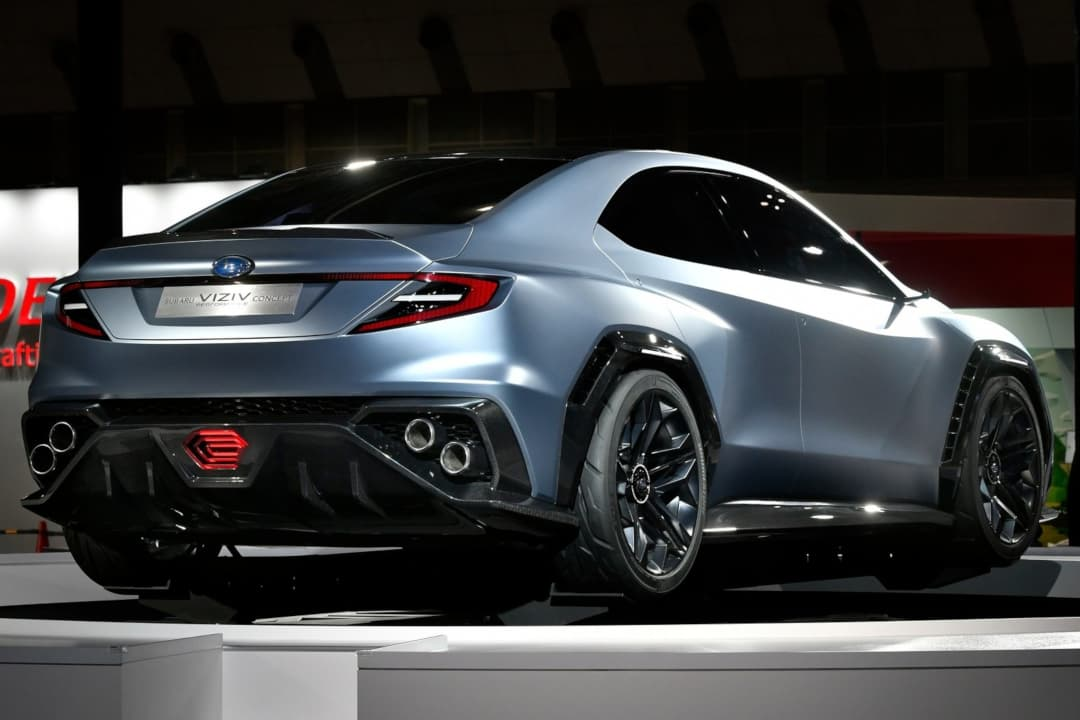 Subaru VIZIV Performance Concept 2017 rear