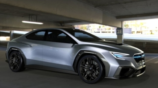 Subaru VIZIV Performance Concept 2017 side