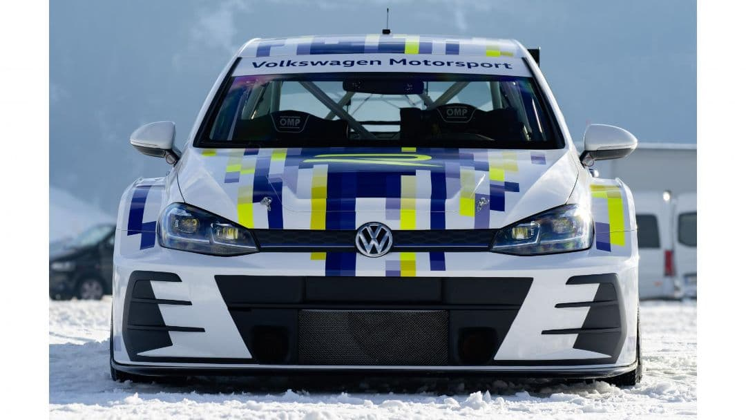 VW eR1 EV race car