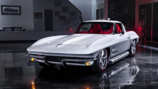 1963 C2 Corvette Restomod front