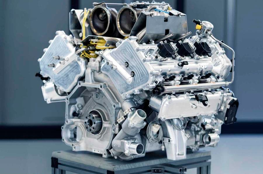 Aston Martin V6 Engine