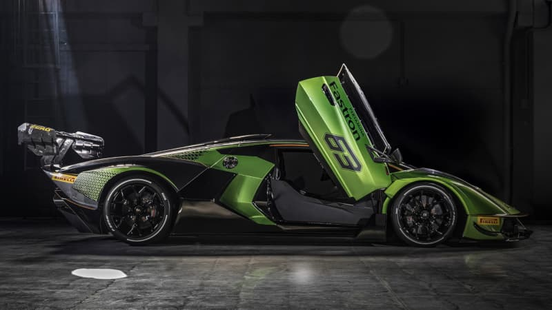 Lamborghini Essenza SCV12 side door open
