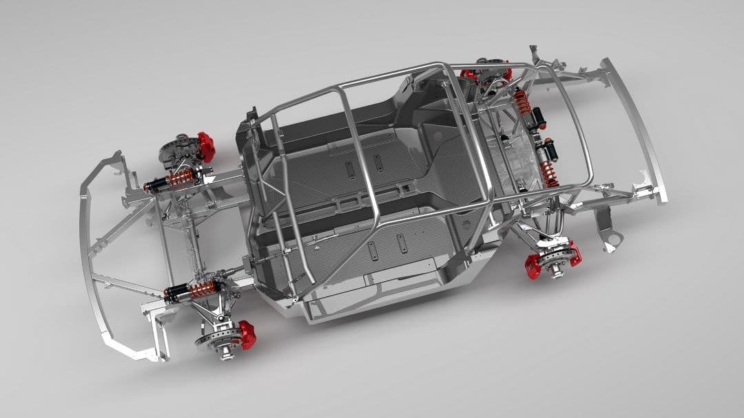 RUF SCR chassis