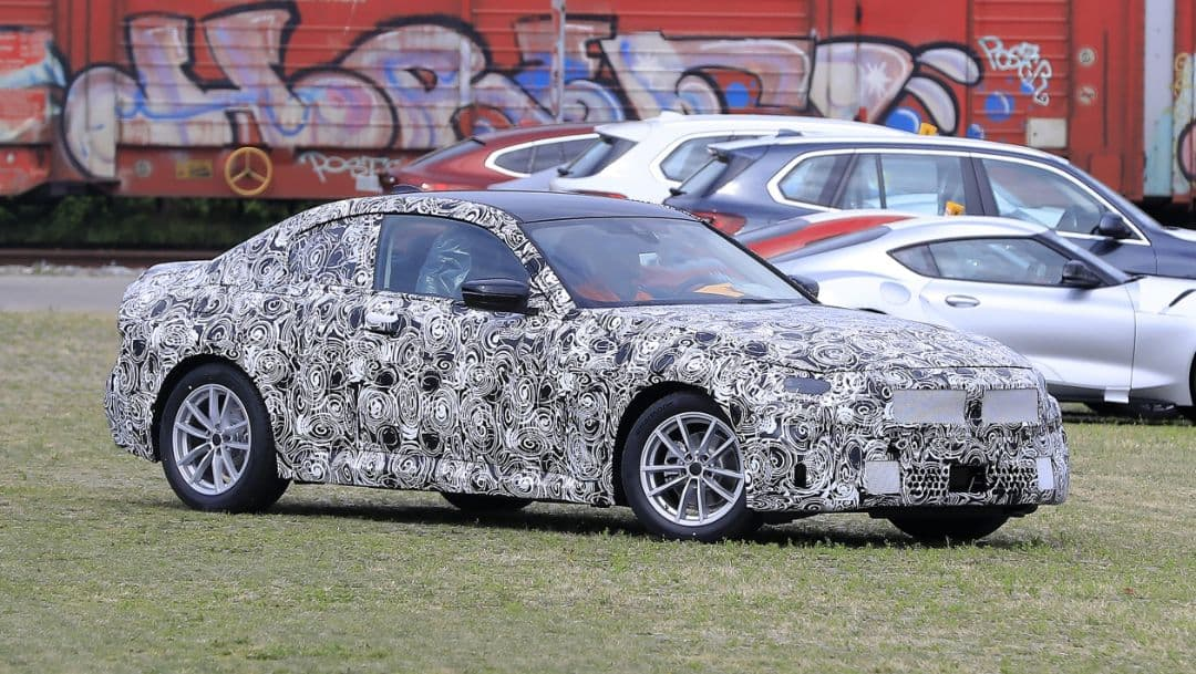 BMW G42 2 Series Coupe Spyshot side