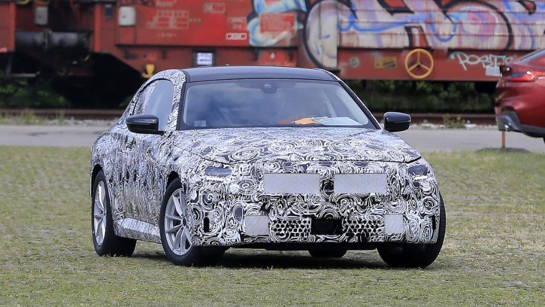 BMW G42 2 Series Coupe Spyshot front