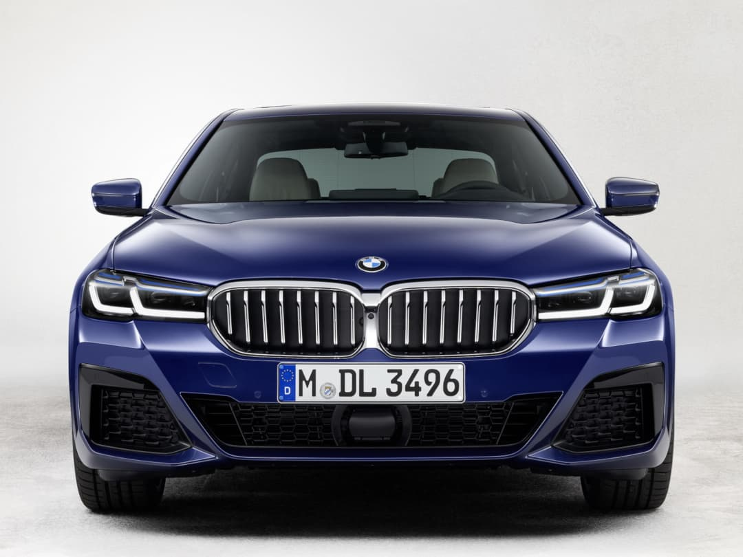 BMW 5 Series facelift 2020 front