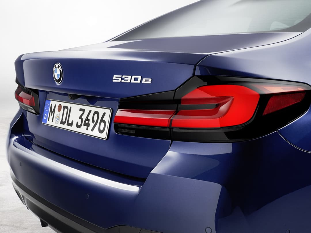 BMW 5 Series facelift 2020 tail light