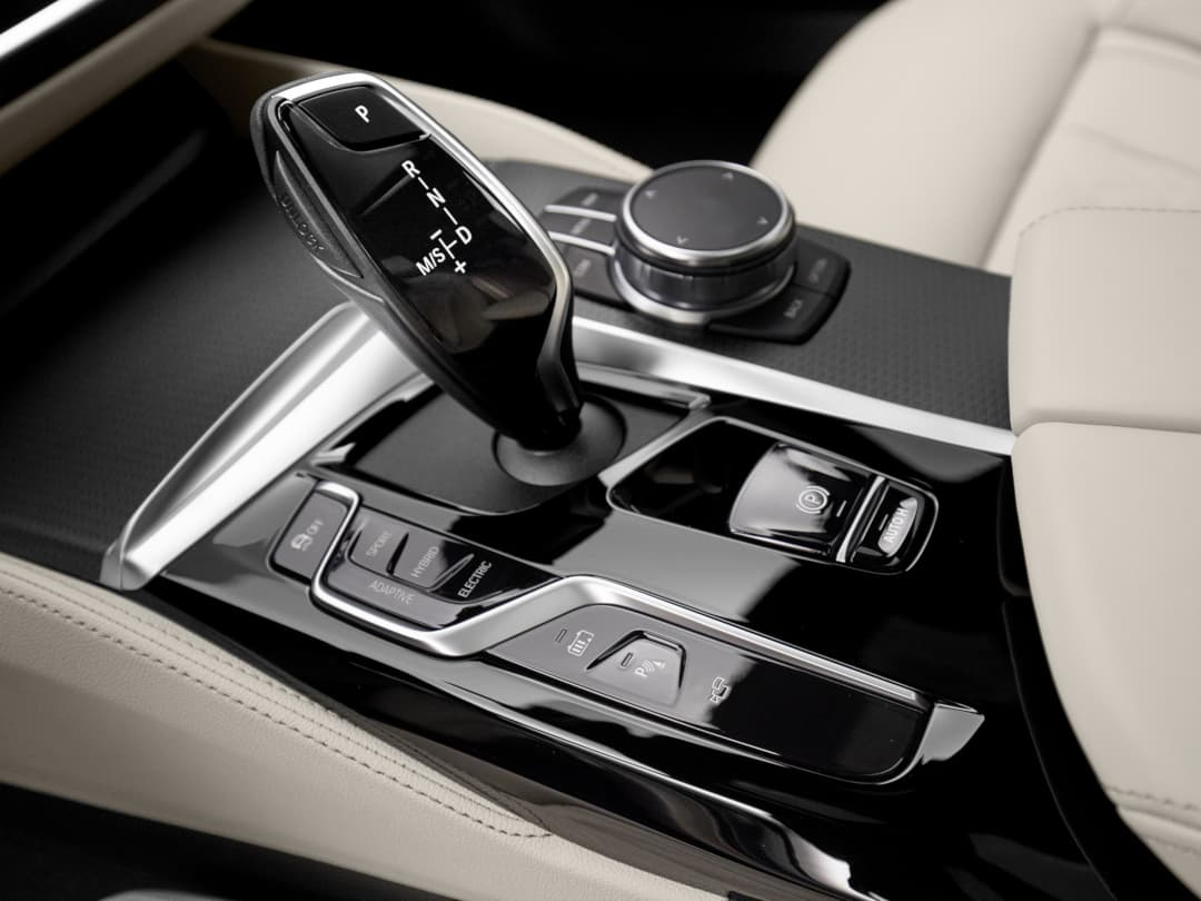 BMW 5 Series facelift 2020 console