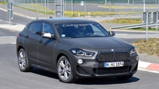 BMW X2 Facelift spyshot
