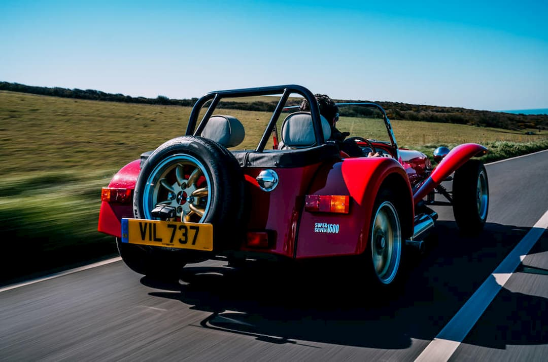 2020 Caterham Super Seven 1600 rear