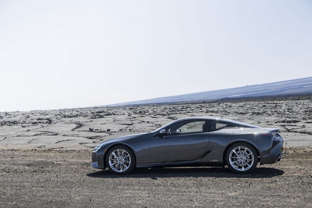 Lexus LC Coupe MY2021 side