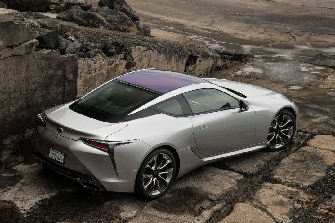 Lexus LC Coupe MY2021 rear
