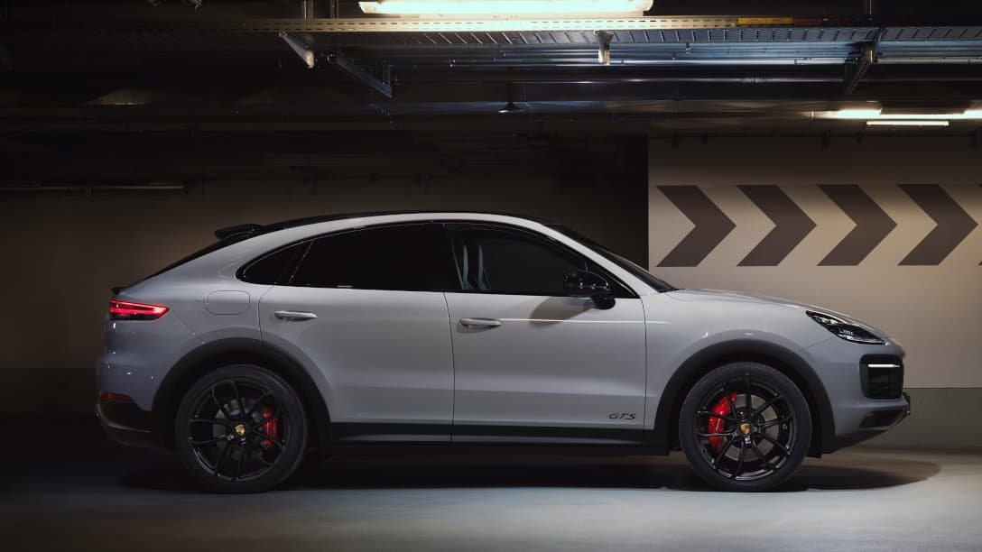 Porsche Cayenne GTS Coupe side