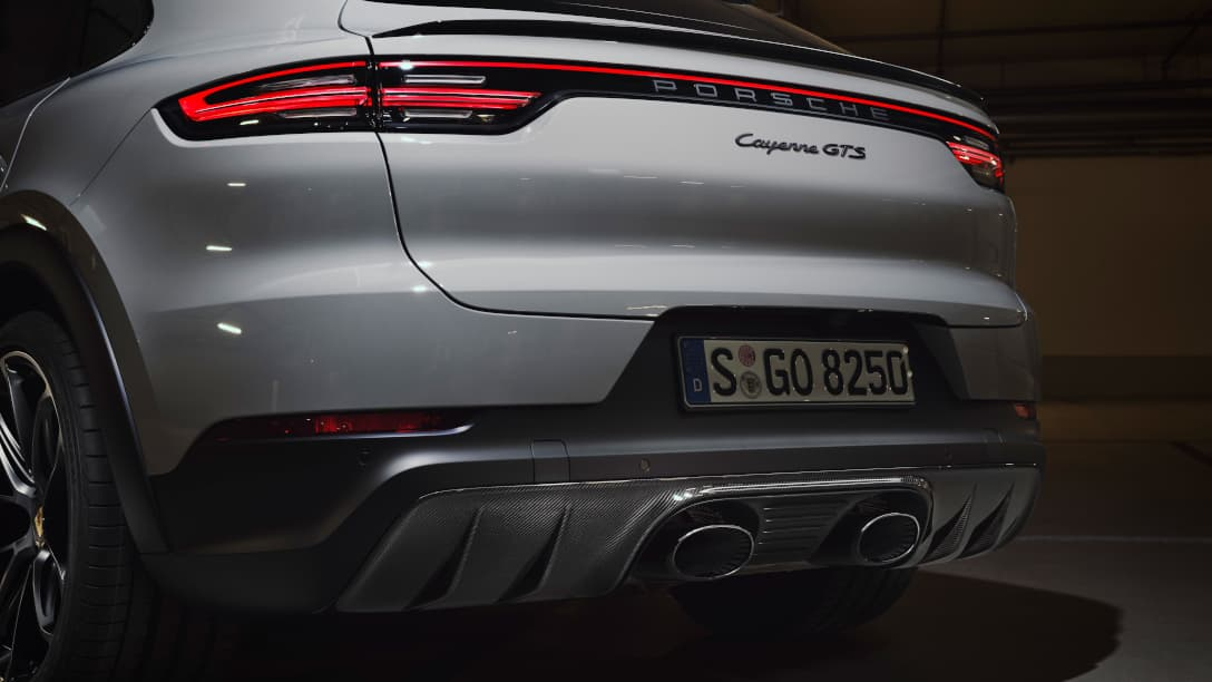Porsche Cayenne GTS Coupe exhaust