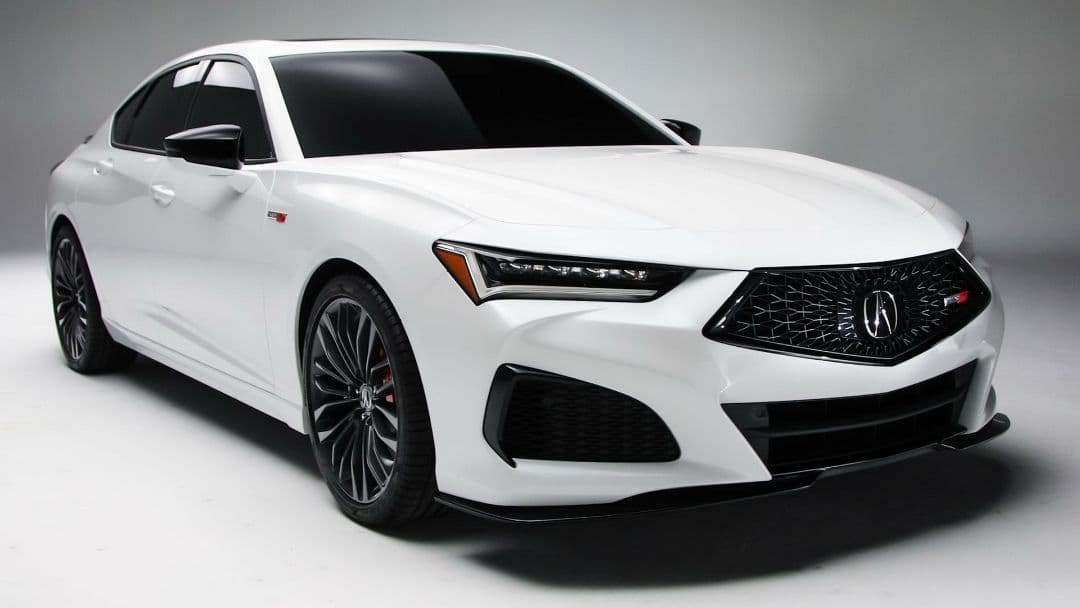 Acura TLX 2021 front