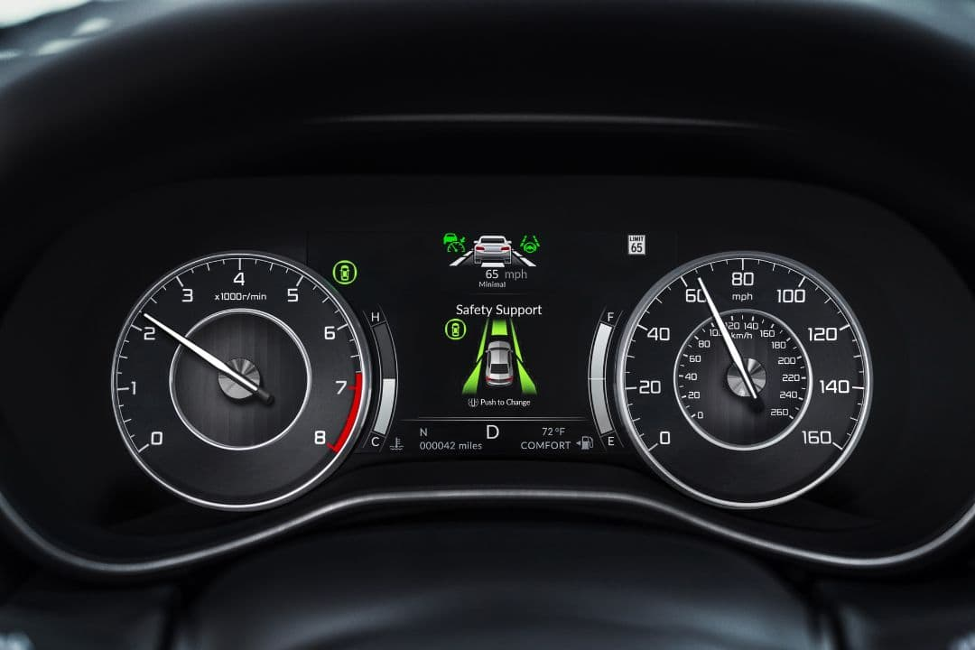 Acura TLX 2021 meter