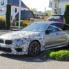 BMW M5 CS spyshot