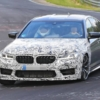 BMW M5 CS Spyshot at Nurburgring