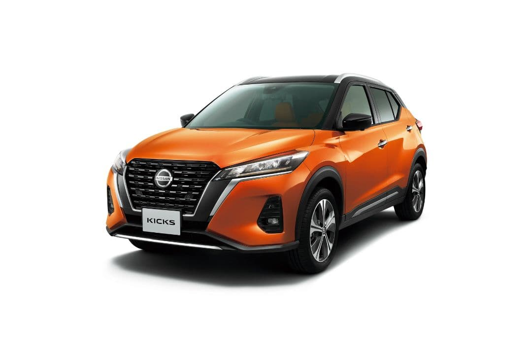 Nissan Kicks Japan Version front