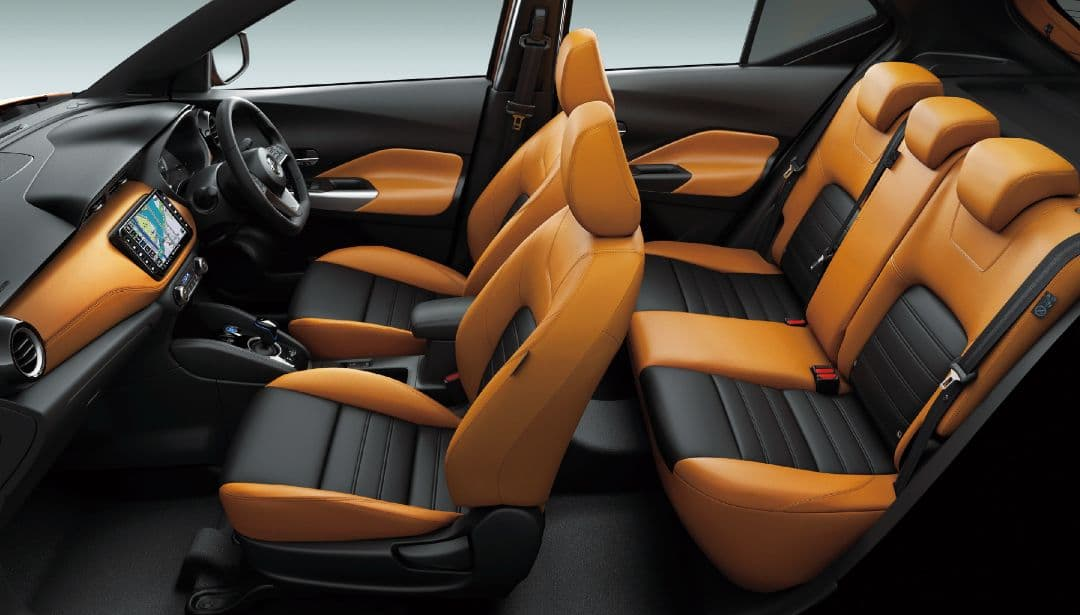 Nissan Kicks Japan Version interior