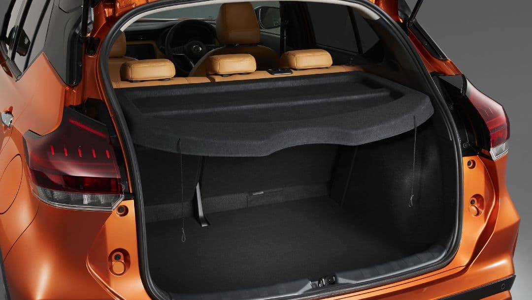 Nissan Kicks Japan Version luggage