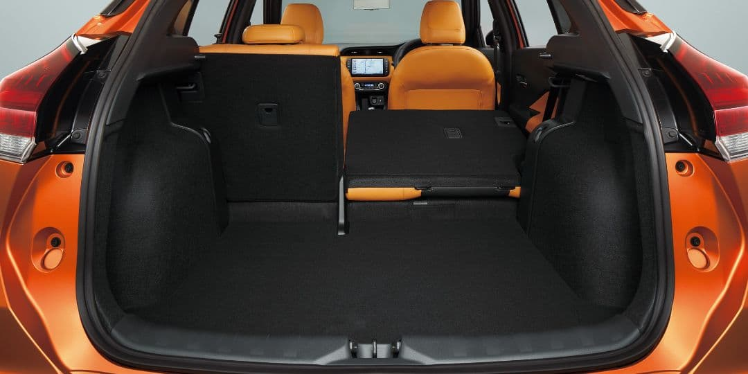 Nissan Kicks Japan Version rear seat folding