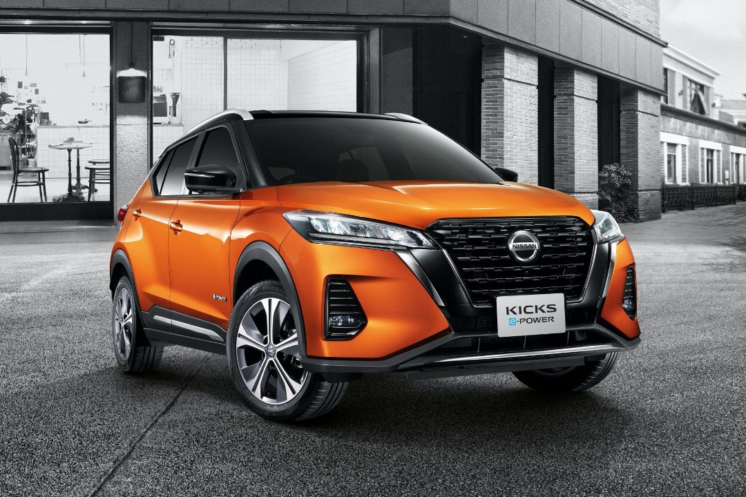 Nissan Kicks e-POWER front