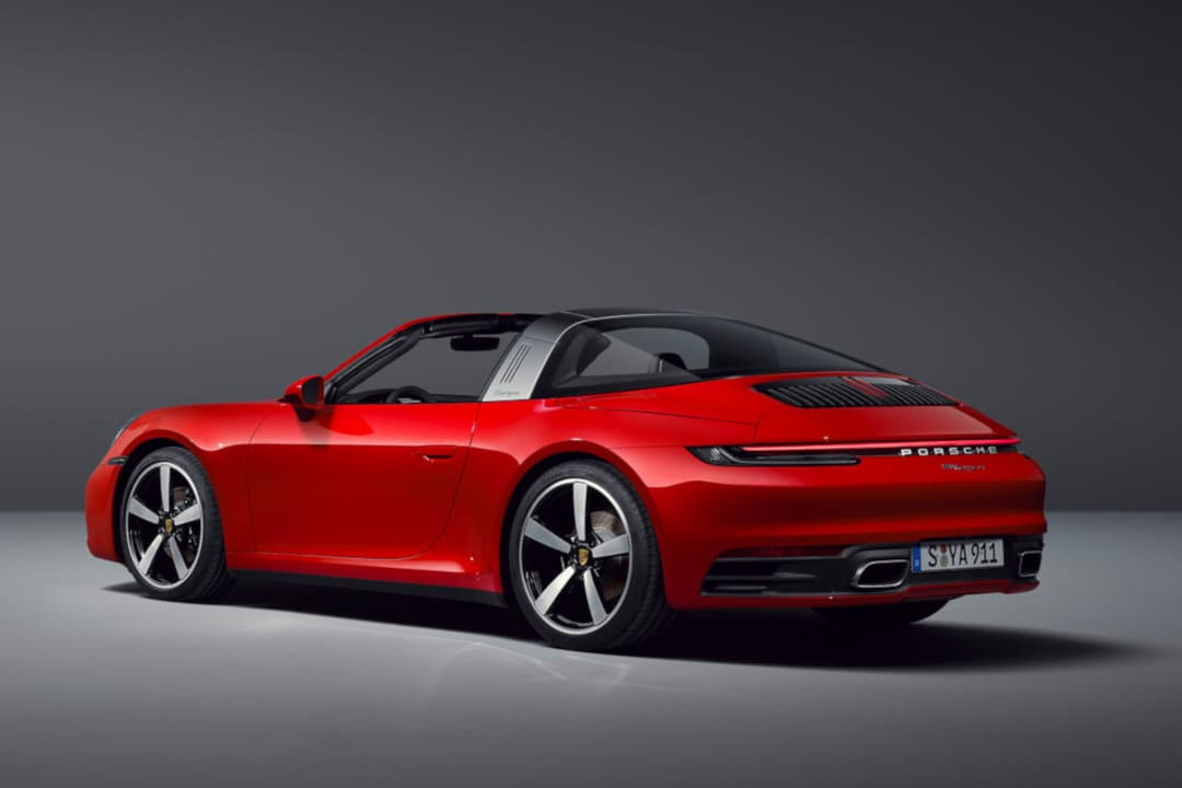 porsche 911 Targa type 992 rear