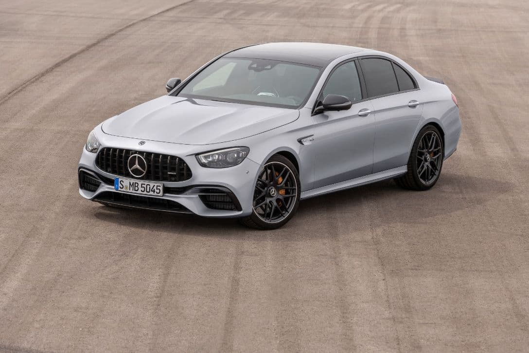 AMG E63 S 4MATIC+ Sedan front three quarter