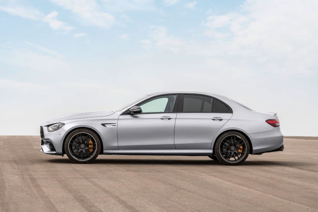 AMG E63 S 4MATIC+ Sedan side