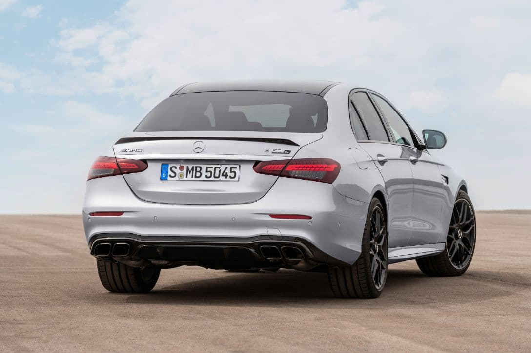 AMG E63 S 4MATIC+ Sedan rear