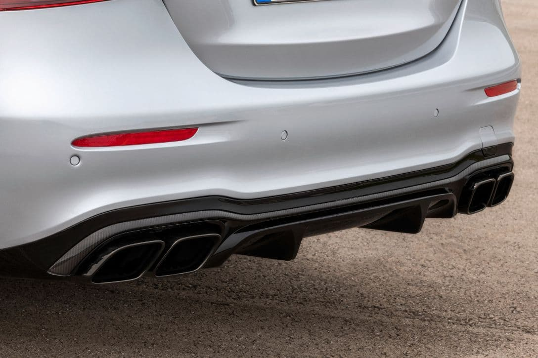 AMG E63 S 4MATIC+ Sedan tail pipe