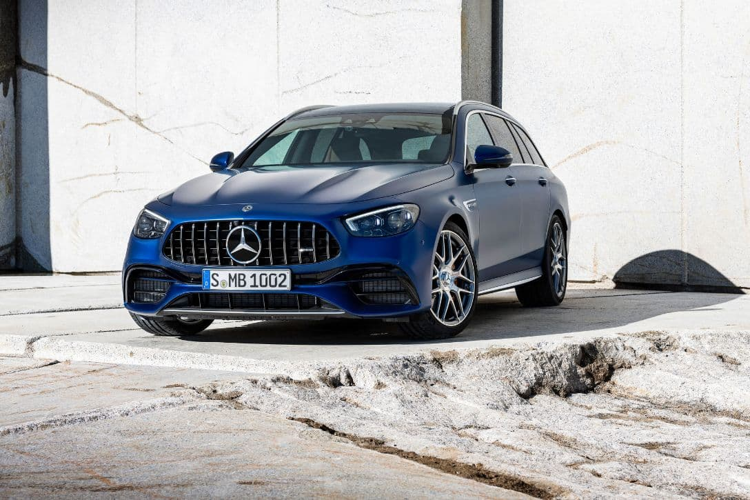 AMG E63 S 4MATIC+ Wagon front