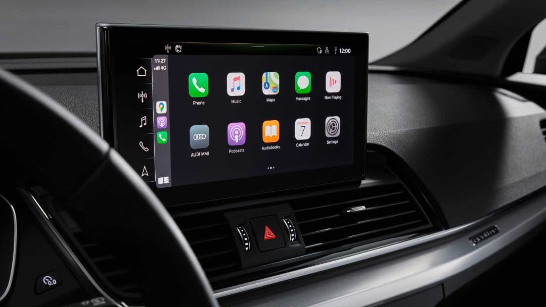 Audi Q5 MY2021 touch screen